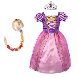 girls rapunzel princess font b dress b