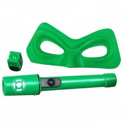 Green Lantern Ring Kids Costume Kit with Mask and Flashlight