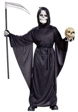 GRIM REAPER ROBE Dress-Up Halloween Costume FUN WORLD CHILD