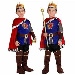 Halloween Cosplay kids Prince Costume The King Costumes Chri