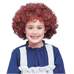 Franco Girls Halloween Costume Curly Red Orphan Wig