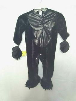 Just Pretend Kids Halloween Costume Gorilla 1T-2T Toddler NW