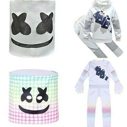 Christmas Costume Kids Boys Cosplay Fancy Dress MarshMello M