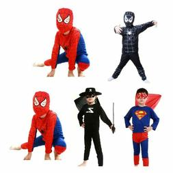 Halloween Dress Toddler Baby Kids Boy Spiderman Costume Supe