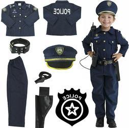 Halloween Kid Costume Boys Girls Outfit Realistic Uniform Po