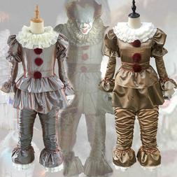 Halloween Stephen King Pennywise Clown It Chapter Men Kids B