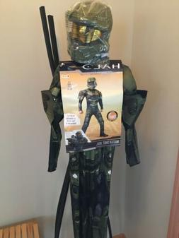 Halo Master Chief Classic Muscle Costume Child Small 4-6