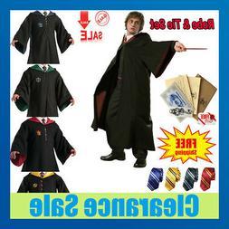 harry potter hogwarts adult child robe cloak