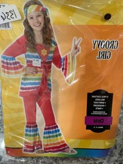 Hippie 60's Halloween Costume Child Small Amscan 841259