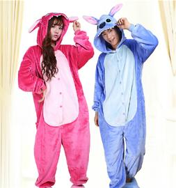 Hot Onesie3Pajamas lilo and stitch Lovers Adult/Kids Sleepwe