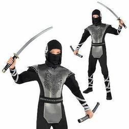Howling Wolf Ninja Medium   Child's Costume by Amscan  - NWT