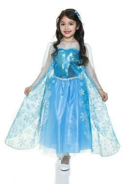Charades - Ice Queen Child Costume - Girls Size Medium  - Ne