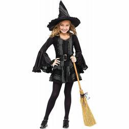 in kids girls halloween costume stitch witch