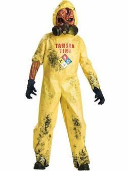 InCharacter Boys Hazmat Hazard Child Costume Yellow, Small 6