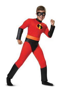 Disguise Incredibles Dash Muscle Child Costume Gloves  - NEW