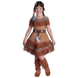 Indian Costume Kids Pocahontas Halloween Fancy Dress