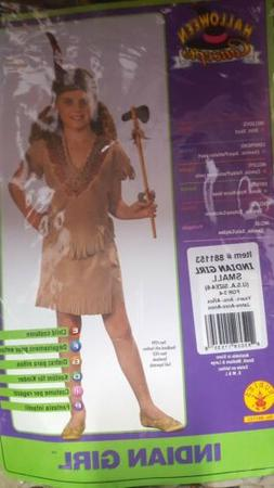 Indian Girl Kids Costume  new by rubies