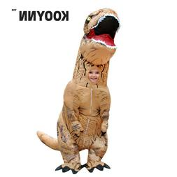 Inflatable Dinosaur Costumes Kids T-REX Dinosaur Inflatable