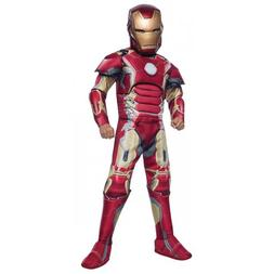 Iron Man Costume Kids Halloween Fancy Dress