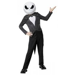 Jack Skellington Costume Kids Halloween Fancy Dress
