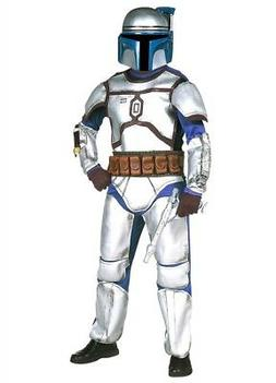 Star Wars JANGO FETT Deluxe Child Costume S 4-6 Boy Hallowee