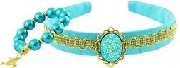 Jasmine Aladdin Costume Accessory Set - Headband Crown and B