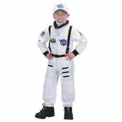 Jr. Astronaut White Suit Kids Costume. Aeromax. Shipping Inc