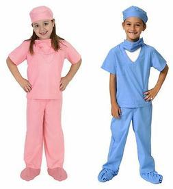 Aeromax Jr. Doctor Scrubs, Pink, Size 4/6