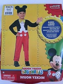 DISNEY JUNIOR MICKEY MOUSE CLUBHOUSE COSTUME CHILD BOYS  SIZ