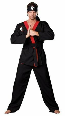 Karate Kid Martial Arts Instructor Judo DELUXE ADULT HUNG LO