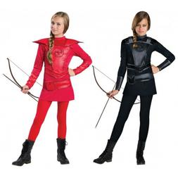 Katniss Everdeen Costume Kids Hunger Games Halloween Fancy D
