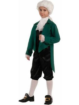 Kid Boys Deluxe American Revolution Colonial Thomas Jefferso