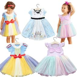 Kid Girl Princess Snow White Sofia Belle Alice In Wonderland