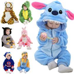 Kids Baby Boys Girls Unisex Costume Romper Cosplay Jumpsuit