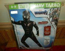 Kids Black Panther Costume Marvel Comics Superhero Size Smal