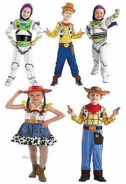 Kids Boys Girls Official Disney Pixar Toy Story Fancy Dress