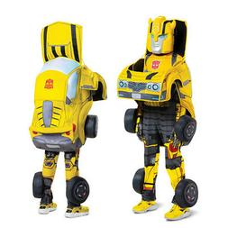Kids Bumblebee Converting Transformers Costume