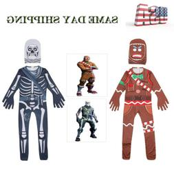 Kids Costume Skull Trooper / Merry Marauder Boys Cosplay Hal