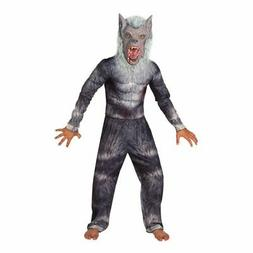 Kids Deluxe Werewolf Costume Boys Halloween Fancy Dress incl