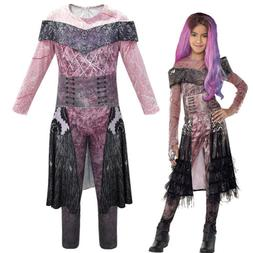 Kids Descendants 3 Audrey Mal Costume Jumpsuit Halloween Cos