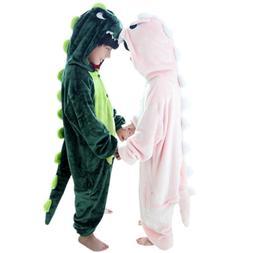 Duraplast Kids Dragon Costume Halloween Hooded Jumpsuit with