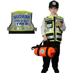 Kids EMT Costume By Dress Up America