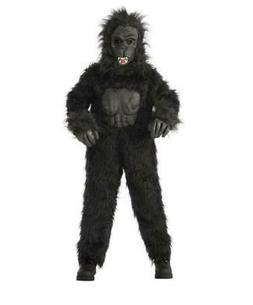 kids gorilla halloween costume black rubie s