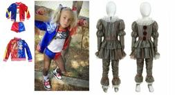 kids halloween cosplay suicide squad harley quinn