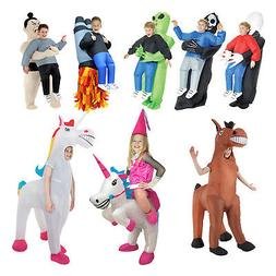 Kids Inflatable Blow Up Pick Me Up Carry Me Scary Halloween
