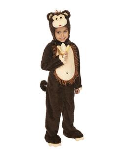 Just Pretend Kids Monkey Costume, Small