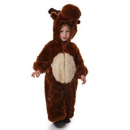 Kids Plush Reindeer Costume By Dress Up America