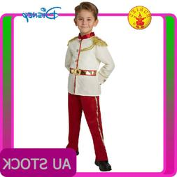 Kids Prince Charming Boys Costume Disney Child Royal Fairy T