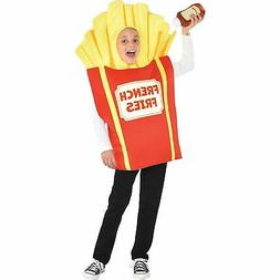 Kids Side of Fries Halloween Costume Simple Tunic Red French