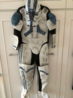 kids size 6 small costume clone trooper
